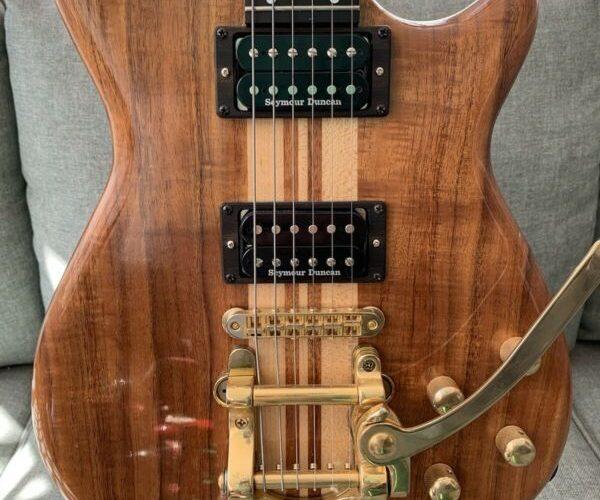 Rare!!! Carvin Guitar SC90 W/ Seymour Sh-18 Whole Lotta pickups Made in USA
